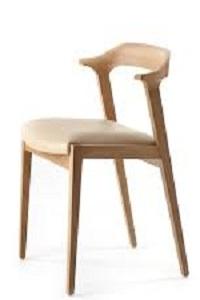 صندلی انتظار چوبی