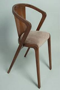 صندلی چوبی ناهار خوری
